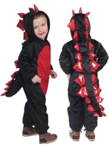 Funny Fashion Kostüm Drache rot
