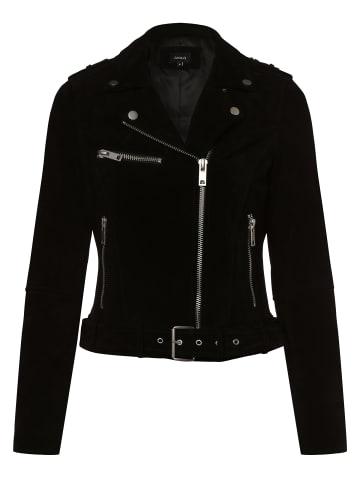 Aygill's Lederjacke in schwarz