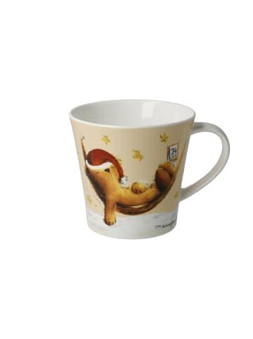 "Goebel Coffee-/Tea Mug "" Peter Schnellhardt - ""Dreaming"" "" in bunt"