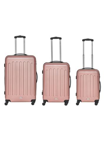 Packenger Travelstar 3er-Set in Mauve
