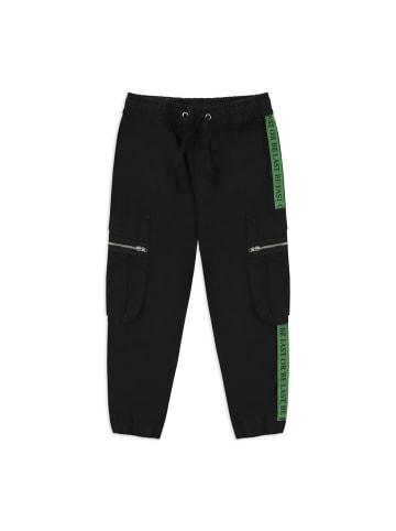 Panco Hose - mit Reißverschlusstaschen - für Jungen in Schwarz