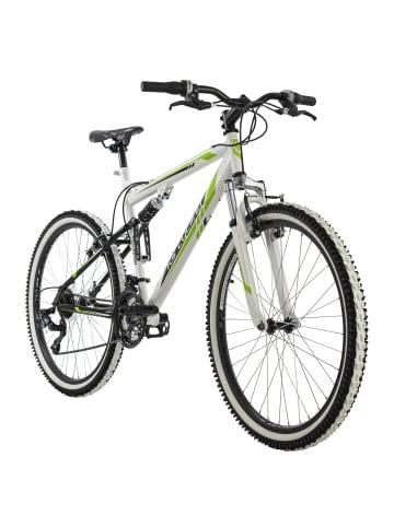 "KS CYCLING Mountainbike Fully 26"" Scrawler in weiß"
