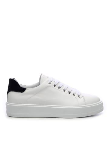 Tanca Herren Sneaker low in weiss
