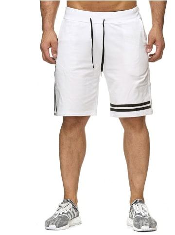 Mtx Sweat Shorts Bermuda Kurze Jogging Hose in Weiß