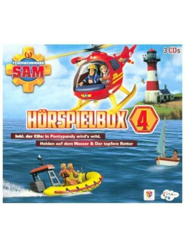 Justbridge Entertainment Germany Feuerwehrmann Sam Hörspielbox. Box.4, 3 Audio-CDs
