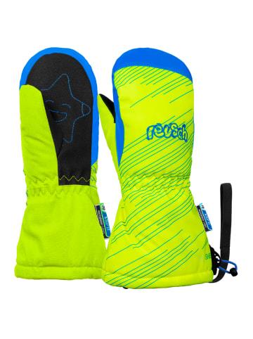 Reusch Fäustling Maxi R-TEX® XT Mitten in neon yellow/brilliant blu