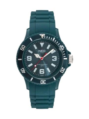NEO Watch NEO Watch Armbanduhr aus Kunststoff in Petrol