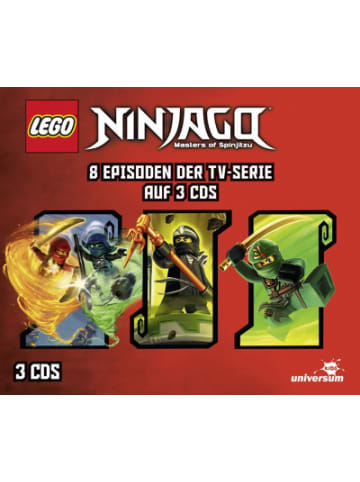 Universum CD LEGO Ninjago Hörspielbox 6 (3 CDs)