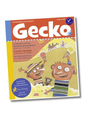 """Gecko Kinderzeitschrift Einzelheft """"Gecko Kinderzeitschrift"""" Nr 84"""