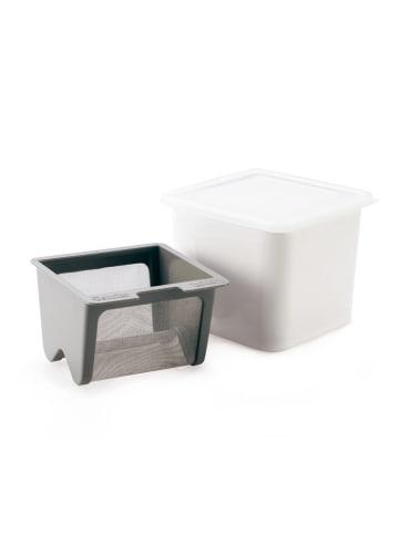 Cuisipro Frischkäsebereiter manuell in weiß - 15,6 x 14,8 x 13,2 cm