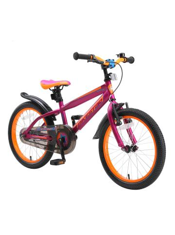 "BIKESTAR Kinder Fahrrad ""Urban Jungle"" in Berry - 18 Zoll"