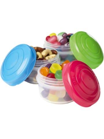 "Sistema 3-tlg. Mini Frischhalteboxen Set ""Mini Bites"" mit Schraubdeckel"