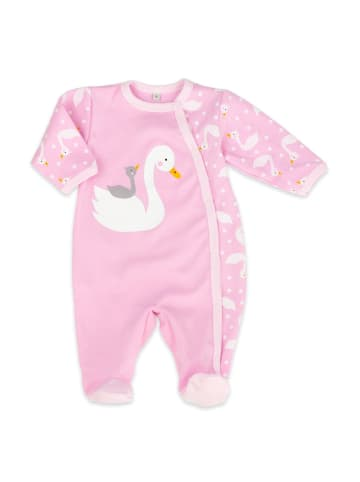 Baby Sweets Schlafanzug Lovely Swan in rosa