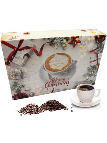 """C&T Adventskalender """"XL Kaffee Gold"""" mit 24 Sorten - Ganze Bohnen"""