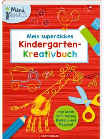 Coppenrath Mein superdickes Kindergarten-Kreativbuch