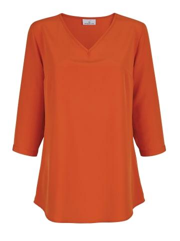 Basically you Bluse in Orange