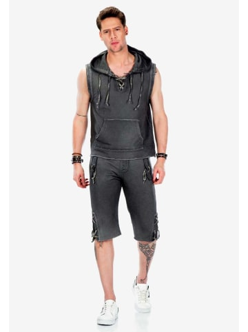 Cipo & Baxx Shorts in Anthracite