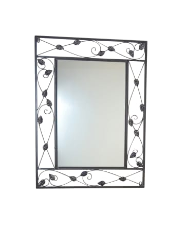 Möbel-direkt Wandspiegel Lydia in schwarz