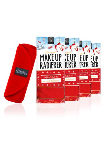 Der original MakeUp Radierer 4er Set: MakeUp Radierer Tuch in Rot