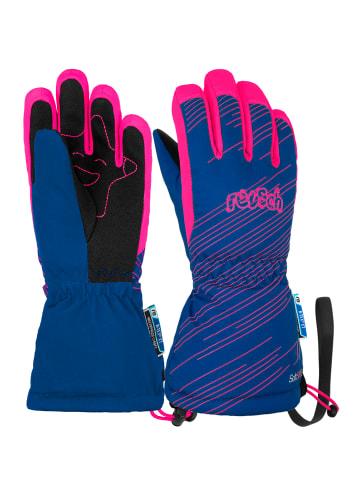 Reusch Fingerhandschuh Maxi R-TEX® XT in surf the web/knock pink