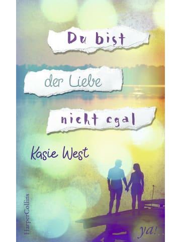 HarperCollins Du bist der Liebe nicht egal | Roman