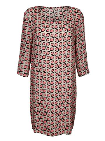Alba Moda Kleid in Beige,Koralle