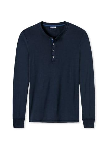 Schiesser Revival T-Shirt in Blau