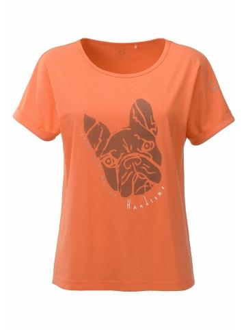 ViertelMond T-Shirt Tora in orange