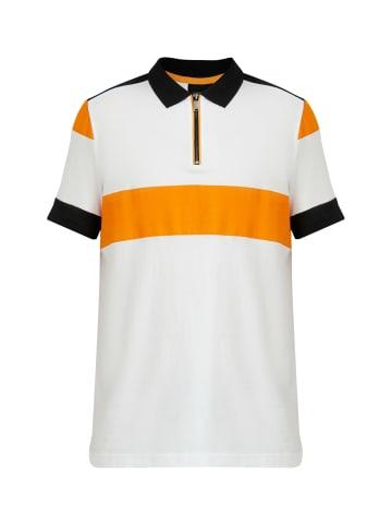 Finn Flare Poloshirt in white
