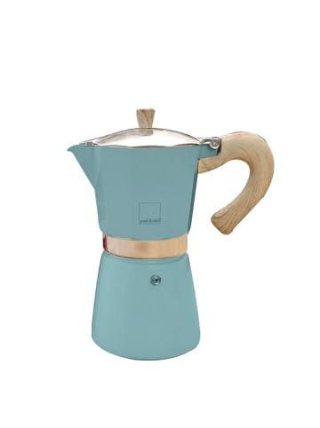 Gnali&Zani Venezia - Espressokocher, blau, 9 Tassen