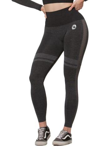 Stark Soul® Seamless Sport Leggings, High Waist in Schwarz