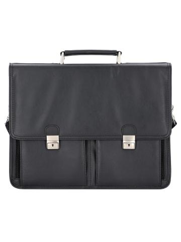 Alassio Veneto Aktentasche 42 cm Laptopfach in schwarz