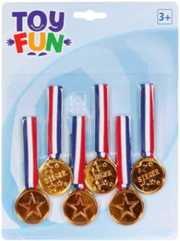 Party Fun Medaillen, 6 Stück
