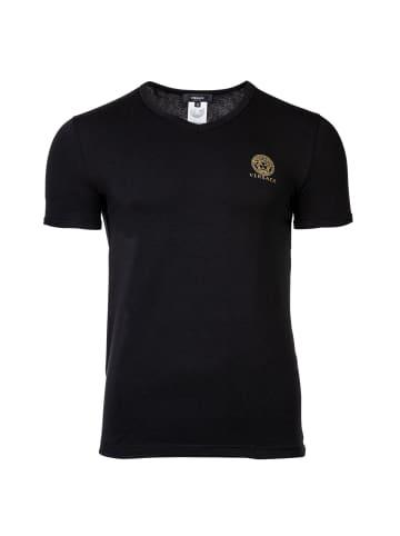 Versace T-Shirt in Schwarz