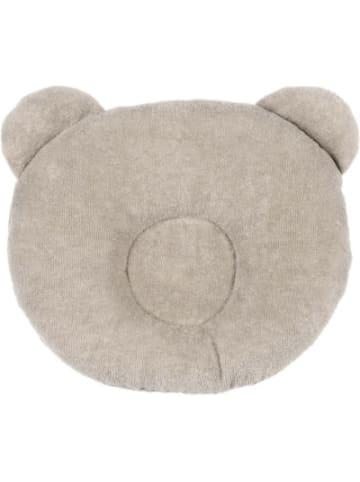 Candide Kopfstütze Panda, beige, 21 x 19 cm