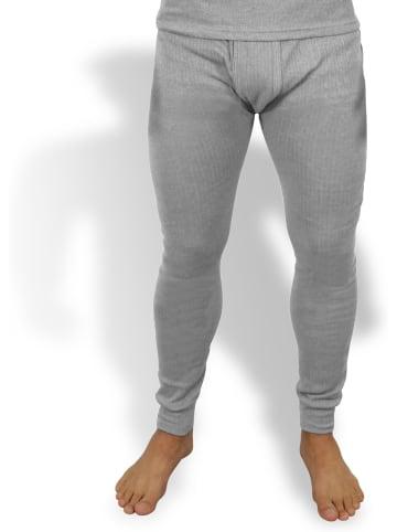 Normani Herren Thermo-Unterhose in Grau