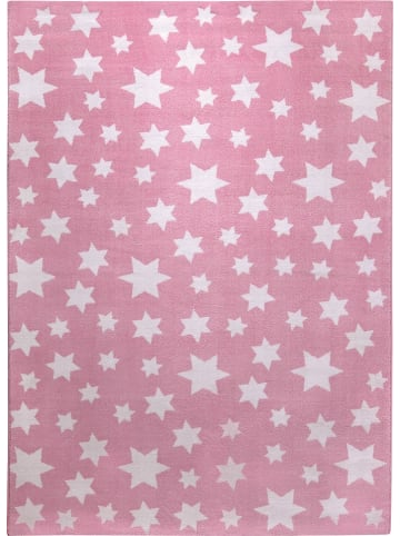 Wecon Home Teppich Jeans Star in rosa