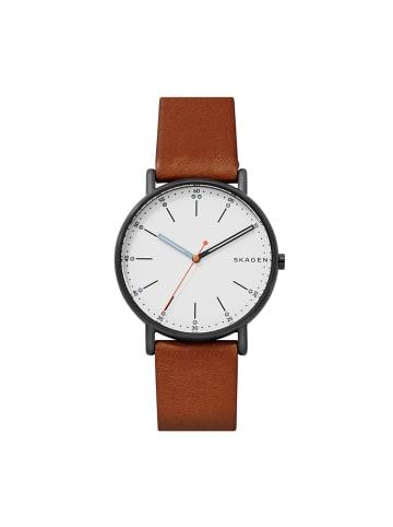 Skagen Armbanduhr in Braun