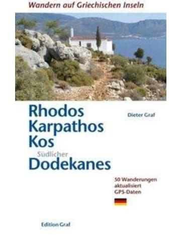 Graf Verlag Rhodos, Karpathos, Kos, Südl. Dodekanes   50 Wanderungen