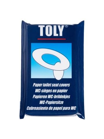 TOLY Papier Toilettensitz 50 Stück in Ungefärbt