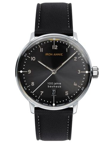 Iron Annie Herren-Armbanduhr Bauhaus 1 Schwarz / Silber