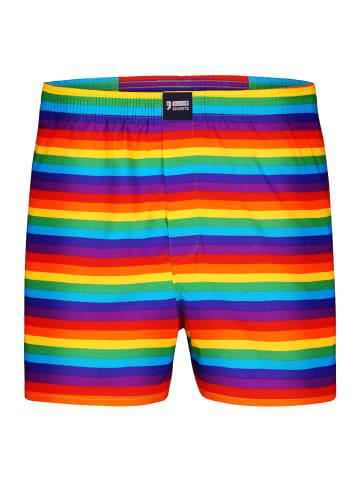 Happy Shorts Boxershorts Motive in Bunt