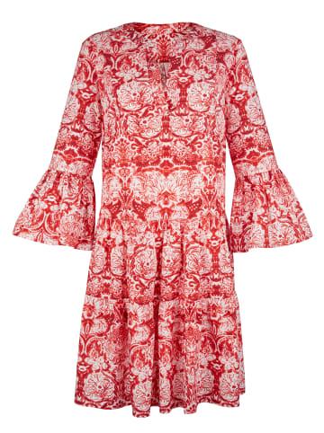AMY VERMONT Kleid in Weiß,Rot