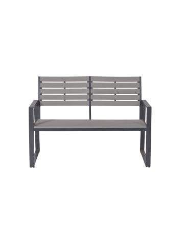 """GMD Living Aluminium Gartenbank """"Detroit"""" in Carbon-Grey"""