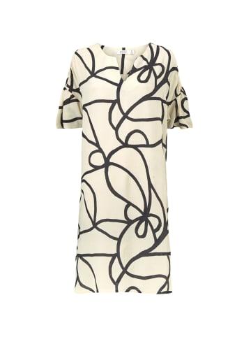 MASAI  knielanges Blusenkleid mit kurzen Ärmeln Narelle in schwarz