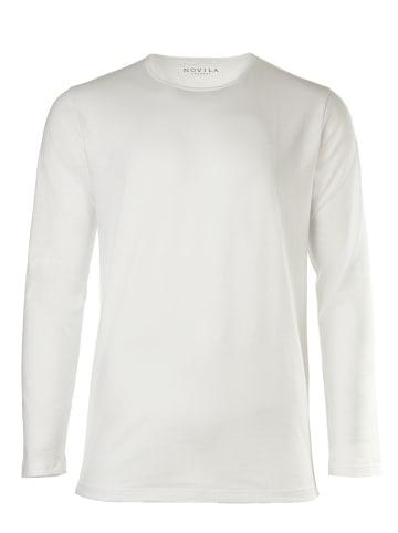 Novila T-Shirt in Weiß