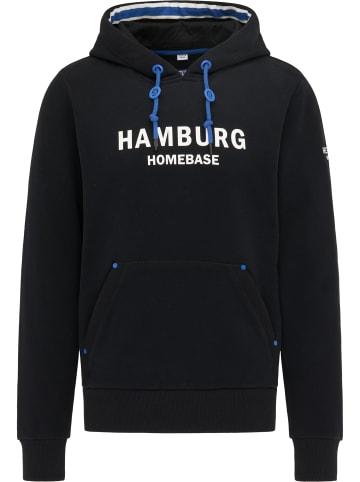 Homebase Hoodie - Hamburg in Schwarz