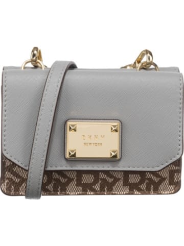 DKNY Perla - Mini Flap - Town And Country Logo Abendtasche