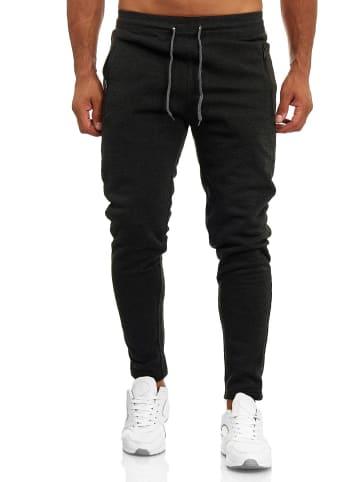 Arizona-Shopping Lockere Baggy Sweat Pants Basic Jogginghose in Dunkelgrau
