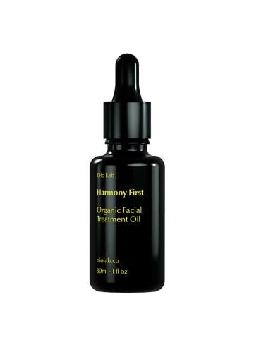 Oio Lab Harmony First. Organic Facial Treatment Oil 30Ml in Schwarz